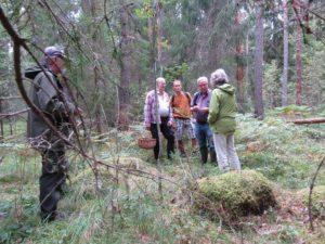 Svamputflykt på kalkrika marker, Gudmundstorp NV 17/9 2016. Foto: Tom Sävström